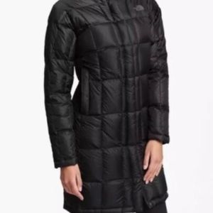 The North Face Long Black Puffer